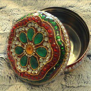 Handmade Indian Trinket/Jewelry Box